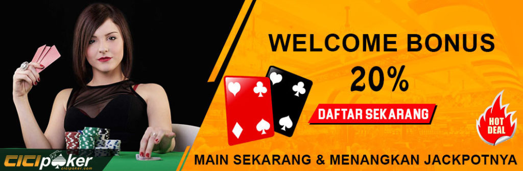 promo welcome poker online